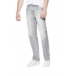 GUESS Abdias Straight Jeans - grey wash